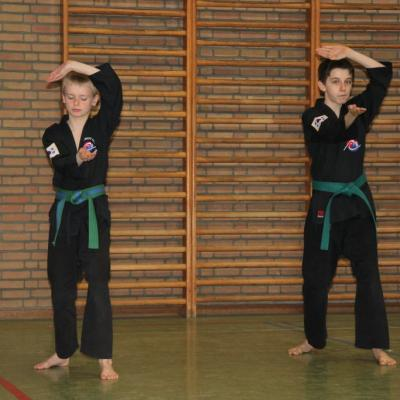 Stage Poomsae du 16 avril