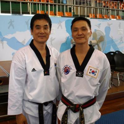 avec Hyungnam Kwon (Corée)