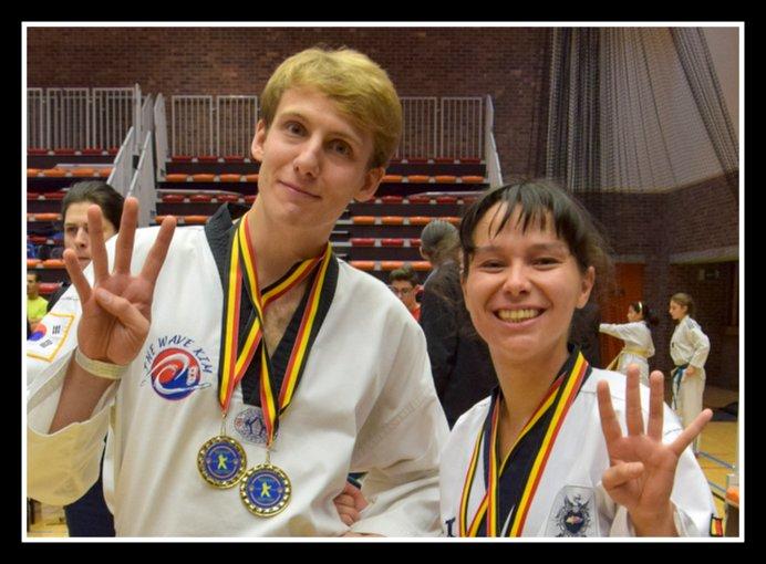 Championnat de Belgique Poomsae 2015