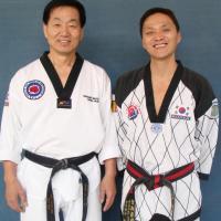 avec Hur Heung Taek de New York