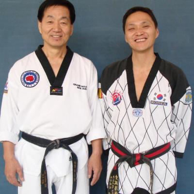 avec Hur Heung Taek (USA- New York)