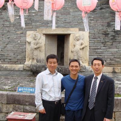 avec Kim Jong Wan (France)
