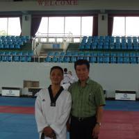 avec Kim Jong Wan