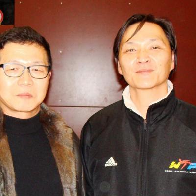avec Ik Pil Kang (Corée)