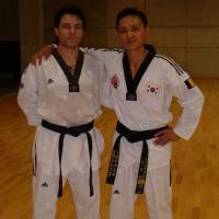 avec Mario Vlachos de Grèce