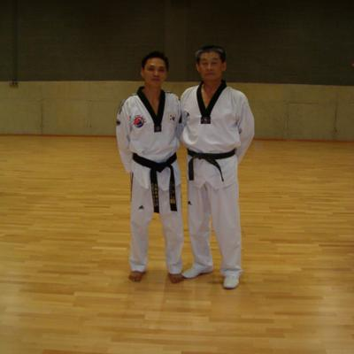 avec Kyu-Hyun Lee (Corée)