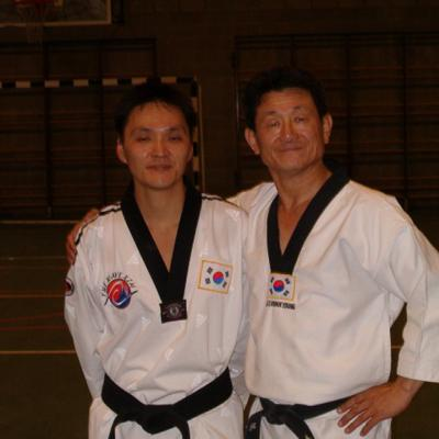 avec Lee Kwan Young