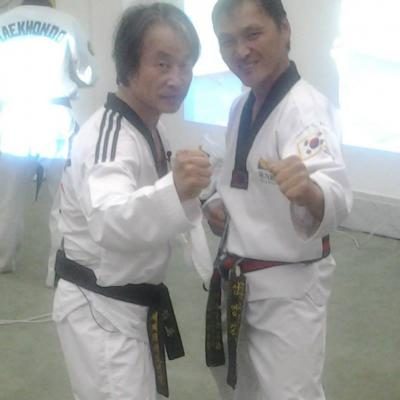avec Jin Kim Young (USA)