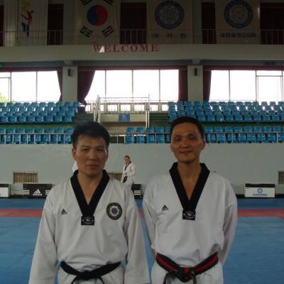 avec Jong Beom Park (Corée)