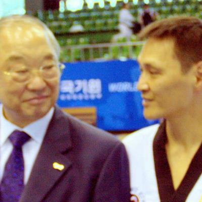 avec Kang Won Sik (Corée)
