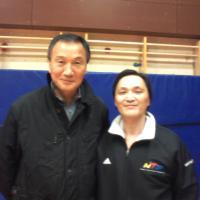 avec Park Soo Nam