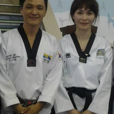 avec Seong Ran Seol (Corée)