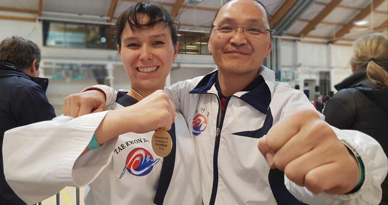 Bravo Joëlle! Championne de Belgique 2019 - Poomsae