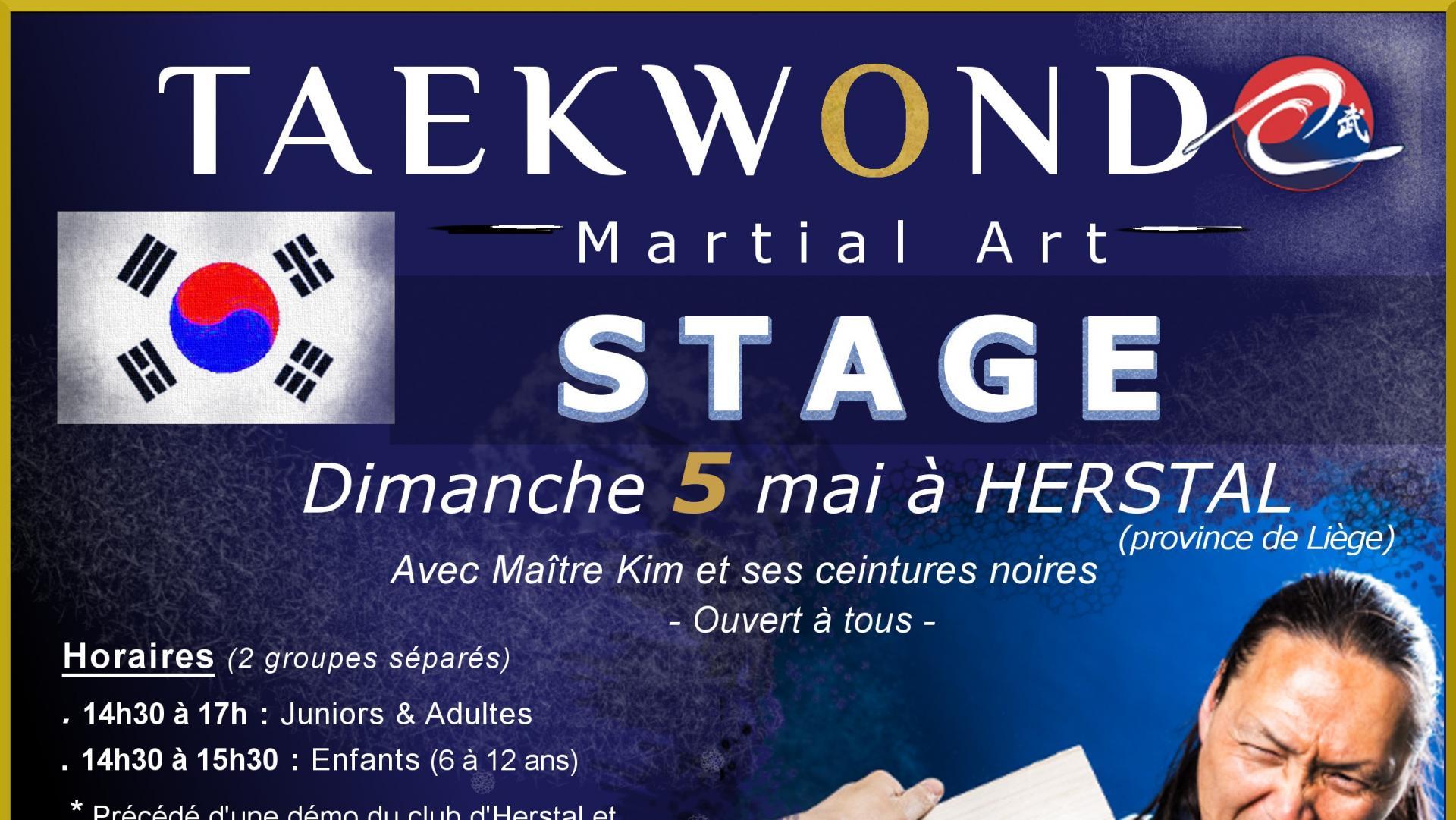 Stage à Herstal (province de Liège) - Dimanche 05 mai